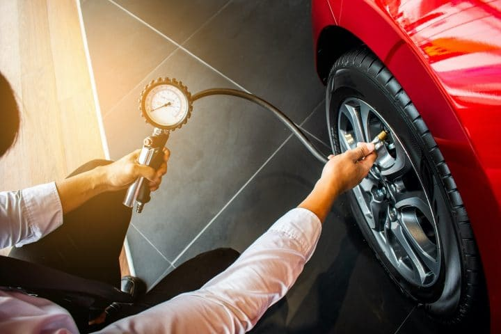 How To Check Tyre Pressure Bowydd Garage